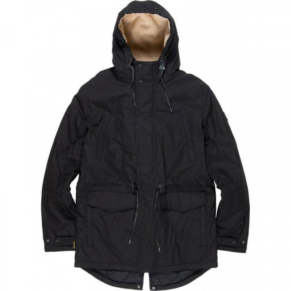 ELEMENT JACKET ROGHAN FLINT BLACK