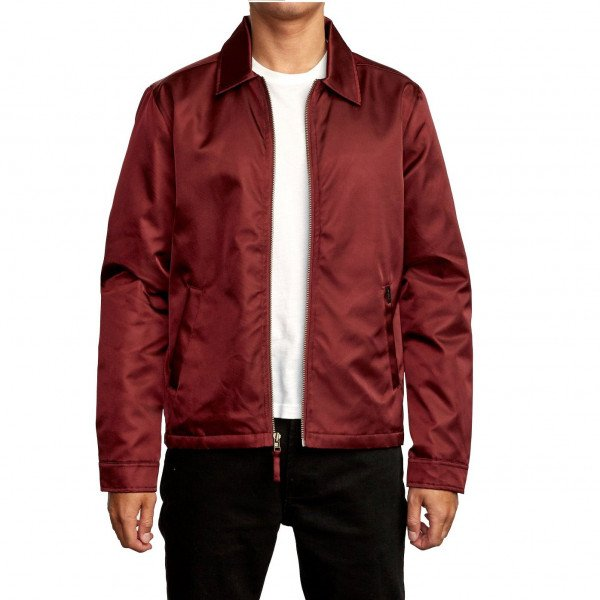 RVCA JAKA SUPPLY JACKET BORDEAUX F19