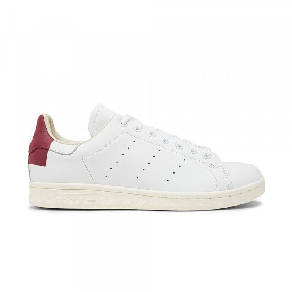 ADIDAS APAVI STAN SMITH WHITE BURGUNDY WHITE F19