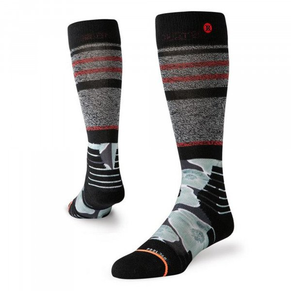STANCE ZEĶES SNOW HIGH HEAT THERMO BLACK