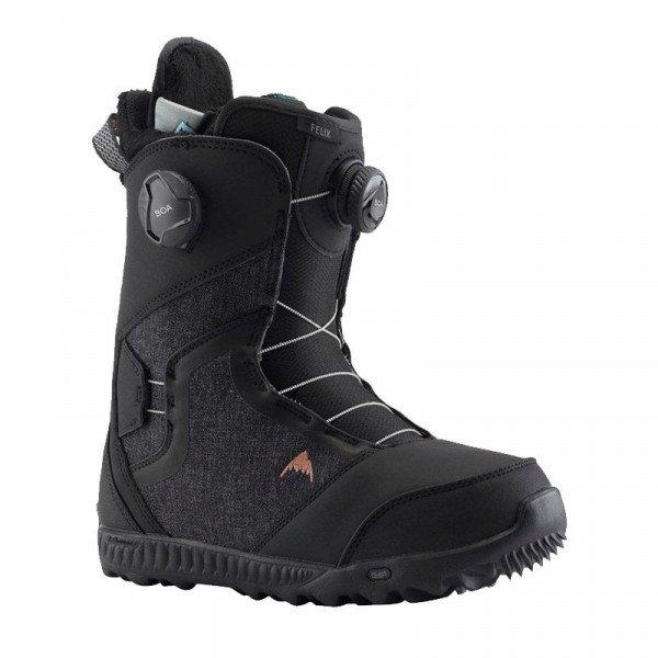 BURTON SNOWBOARD BOOTS FELIX BOA BLACK W19