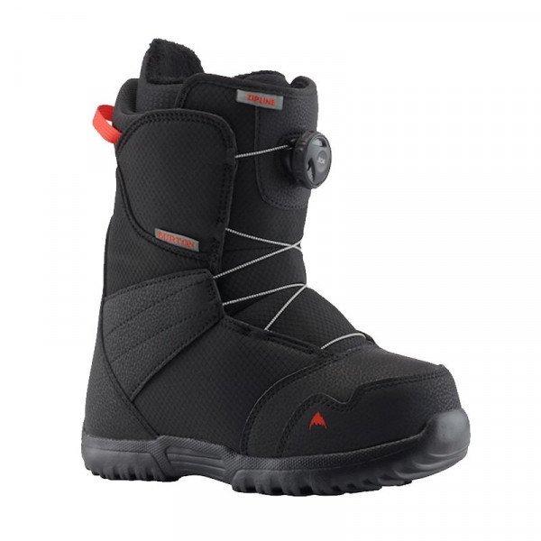 BURTON SNOWBOARD BOOTS ZIPLINE BOA BLACK W19