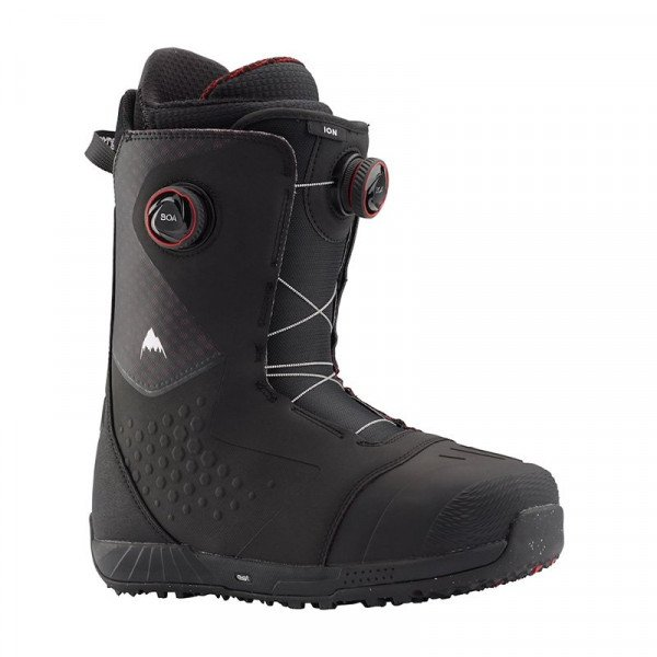 BURTON ZĀBAKI ION BOA BLACK RED W19