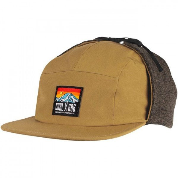 COAL CEPURE THE PARADISE CAP GOLDEN BROWN F19