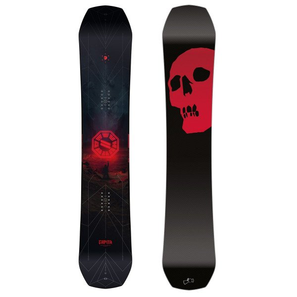 CAPITA SNOVBORDA DĒLIS THE BLACK SNOWBOARD OF DEATH W19