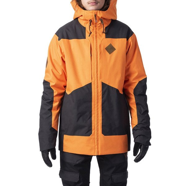 RIP CURL JAKA POW JACKET PERSIMMON ORANGE W19