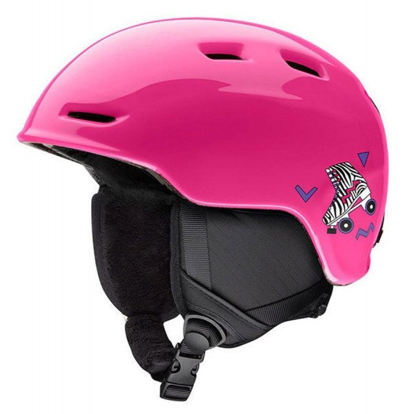 SMITH HELMET ZOOM JUNIOR PINK ROSE