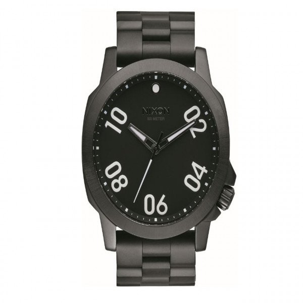 NIXON PULKSTENIS RANGER 45 ALL BLACK