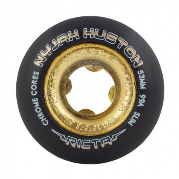 RICTA RITENĪŠI NYJAH HUSTON CHROME CORE BLACK 53 MM 99A