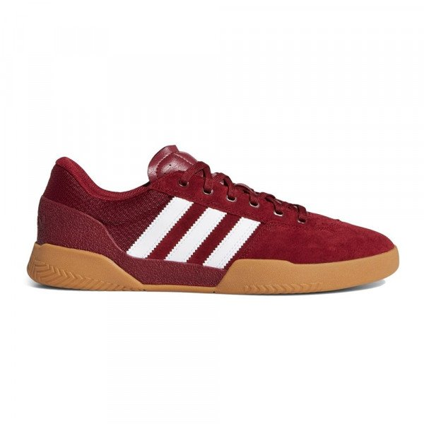 ADIDAS APAVI CITY CUP COLLEGIATE BURGUNDY CLOUD WHITE GUM F19