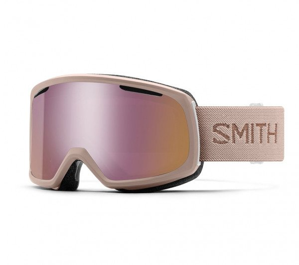 SMITH GOGGLES RIOT TUSK CP ROSE GOLD MIRROR W19