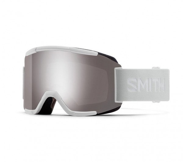 SMITH BRILLES SQUAD XL BLACK CP SUN PLATINUM MIRROR W19