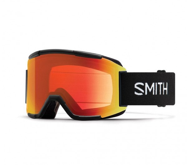 SMITH BRILLES SQUAD XL BLACK CP ED RED MIRROR W19