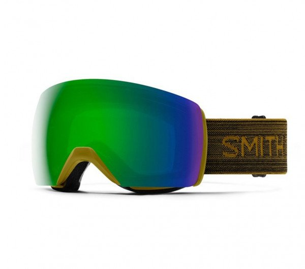 SMITH GOGGLES SKYLINE XL MYSTIC GREEN CP SUN GREEN MIRROR W19