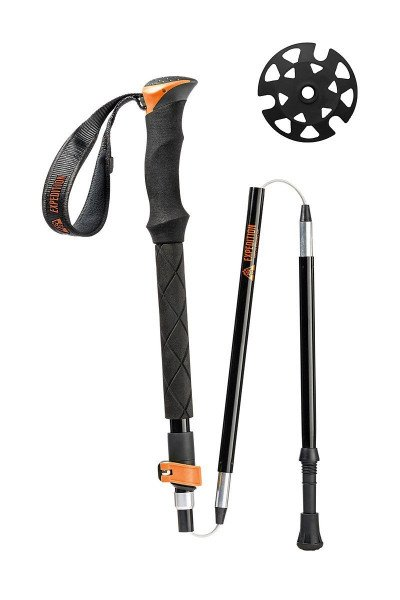 UNION TELESCOPIC POLES ORANGE (110-135 CM)