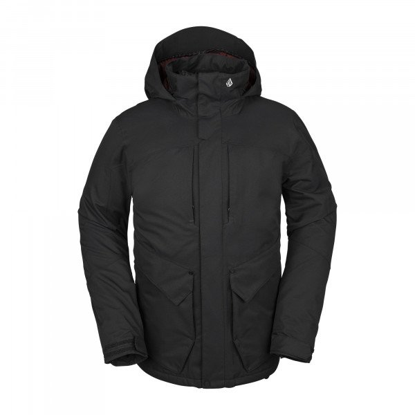 VOLCOM ANDERS 2L TDS JACKET BLK W19