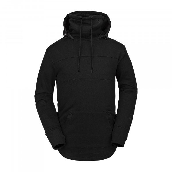 VOLCOM DŽEMPERIS HOOD MIYOSHI FLEECE BLK W19