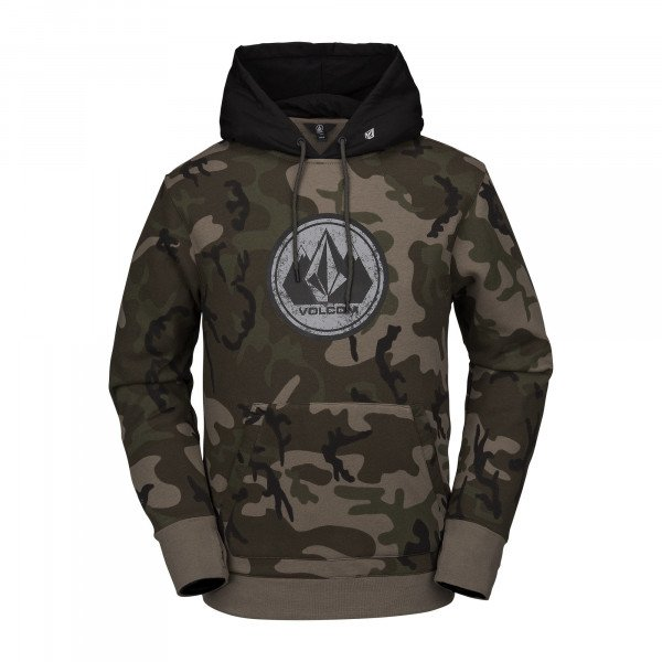 VOLCOM DŽEMPERIS HOOD V.CO RAIN FLEECE CMG W19
