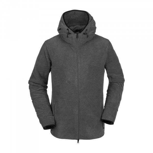 VOLCOM ZIP-HOOD POLARTEC FLEECE HGR W19