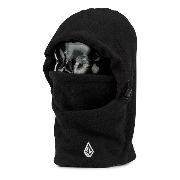 VOLCOM MASKA TRAVELIN HOOD THINGY BLK W19