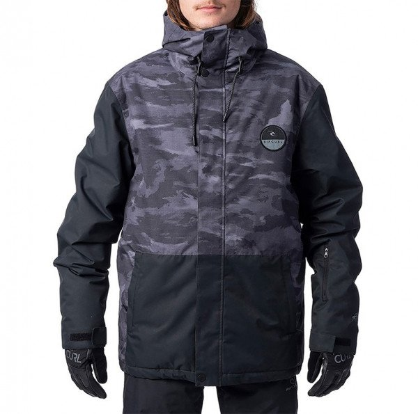 RIP CURL JAKA THE TOP NOTCH JACKET JET BLACK W19