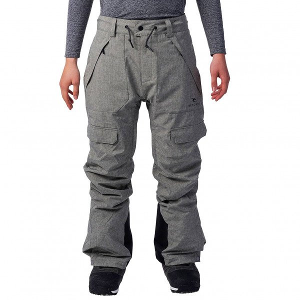 RIP CURL PANTS FOCKER PANT STEEL GREY W19