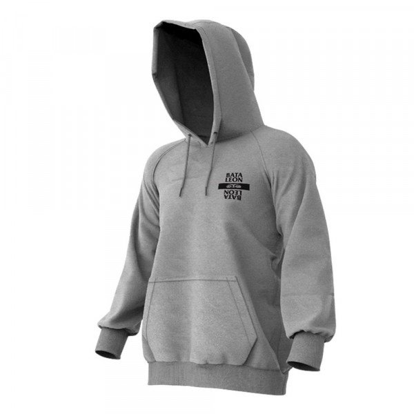 BATALEON HOOD LAST NINJA HOODIE HEATHER GREY W19