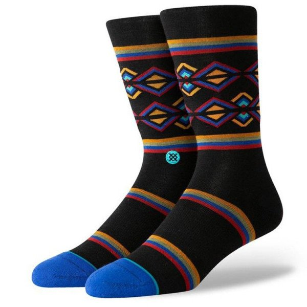 STANCE ZEĶES BLUE FOUNDATION HARVEY BLACK