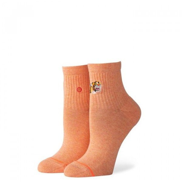 STANCE ZEĶES FOUNDATION WOMEN RAJA ORANGE DYE