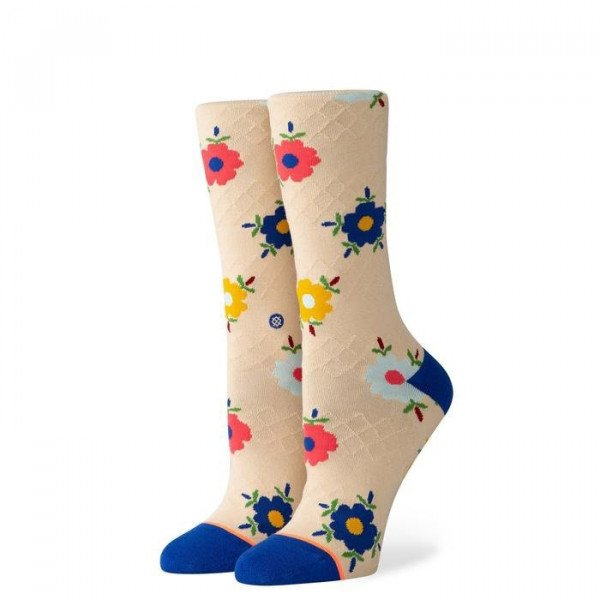 STANCE SOCKS FOUNDATION WOMEN KARLEE CREAM