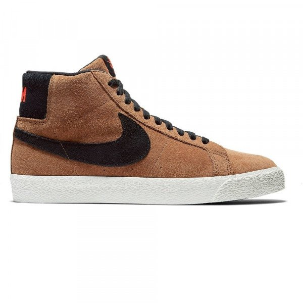 NIKE APAVI SB ZOOM BLAZER MID LIGHT BRITISH TAN F19