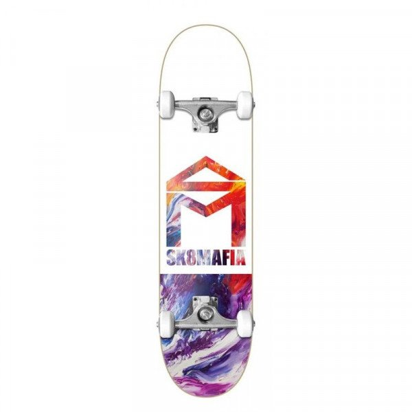 SK8MAFIA COMPLETE HOUSE LOGO OIL LOW 8.0