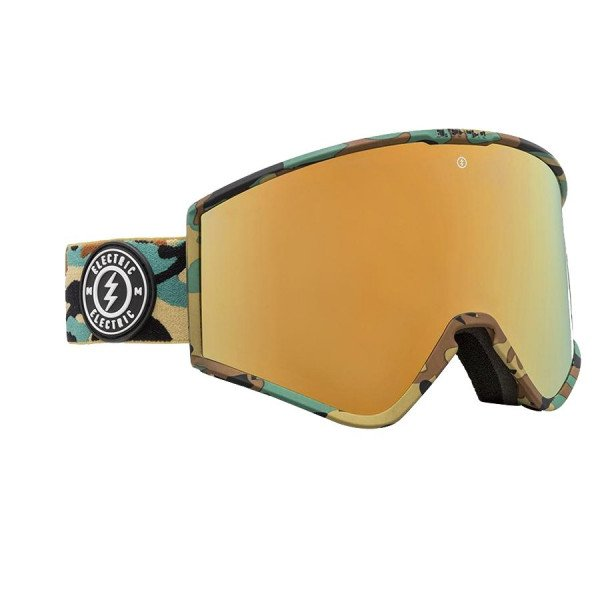 ELECTRIC GOOGLES KLEVELAND CAMO BROSE GOLD CHROME + BL
