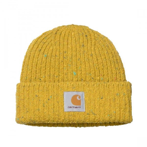 CARHARTT WIP CEPURE ANGLISTIC BEANIE COLZA HEATHER F19