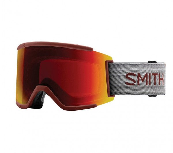 SMITH BRILLES SQUAD XL OXIDE CP SUN RED MIRROR W19