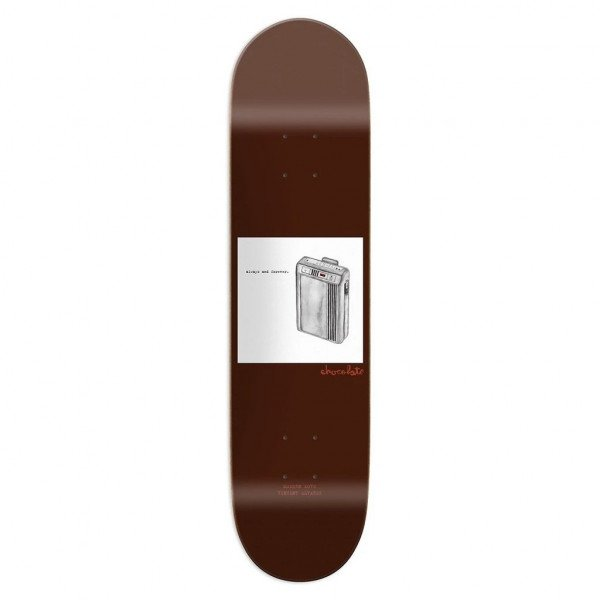 CHOCOLATE ALVAREZ MODERN LOVE 8.375 DECK