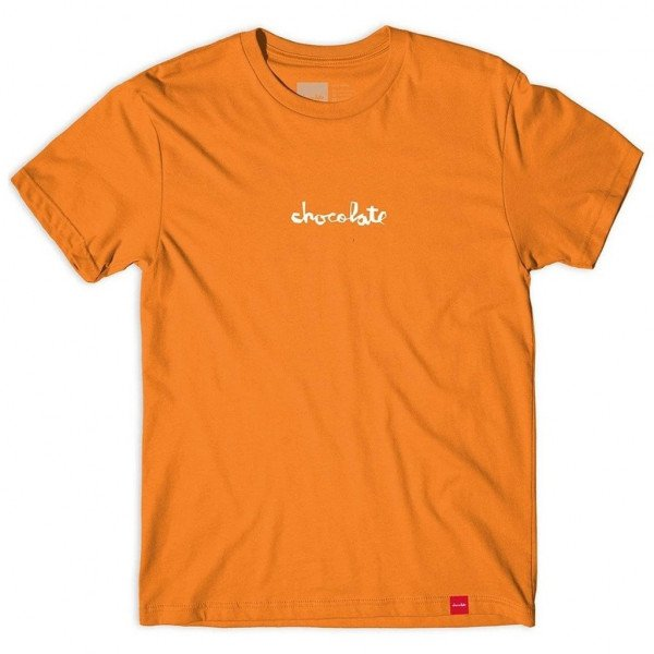 CHOCOLATE T-SHIRT MID CHUNK TEE ORANGE H19
