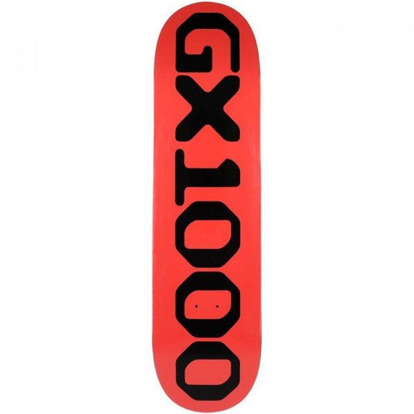 GX1000 DECK OG LOGO RED 8.625 DECK
