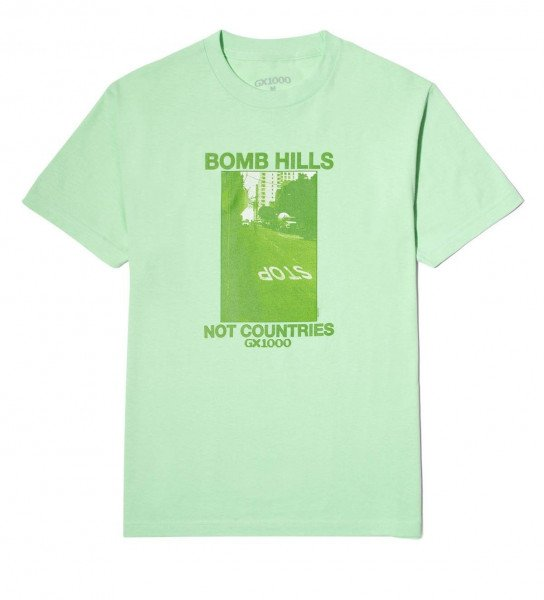 GX1000 T-SHIRT BOMB HILLS NOT COUNTRIES MINT H19