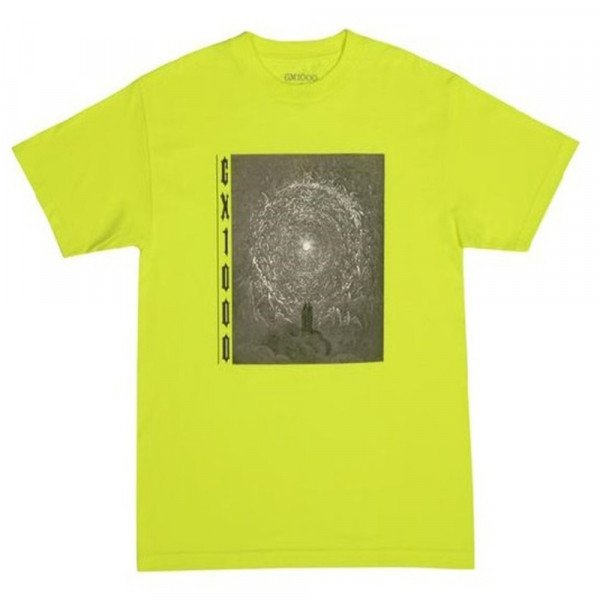 GX1000 T-SHIRT INFERNO SAFETY GREEN H19