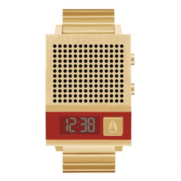 NIXON PULKSTENIS DORK TOO ALL GOLD