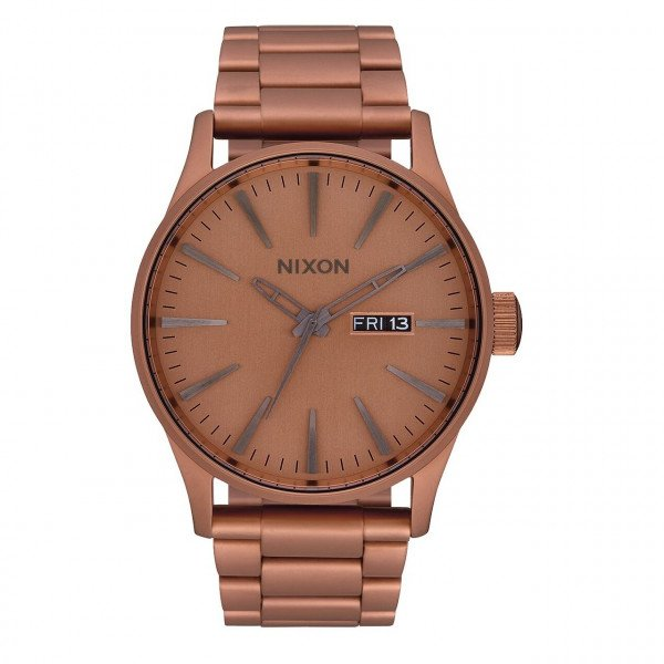 NIXON WATCH SENTRY SS MATTE COPPER GUNMETAL