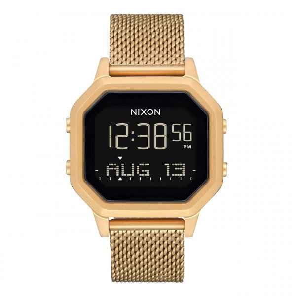 NIXON WATCH SIREN MILANESE ALL GOLD