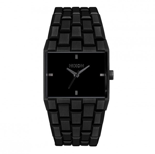 NIXON WATCH TICKET ALL BLACK