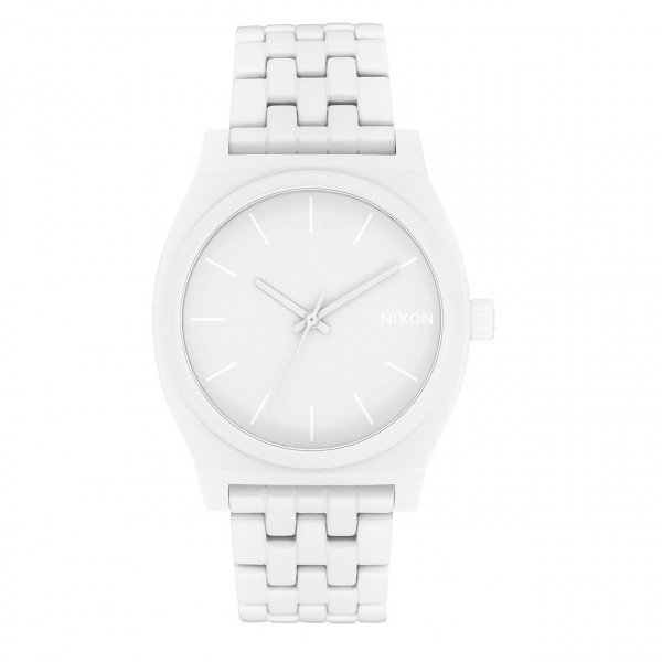 NIXON PULKSTENIS TIME TELLER ALL WHITE