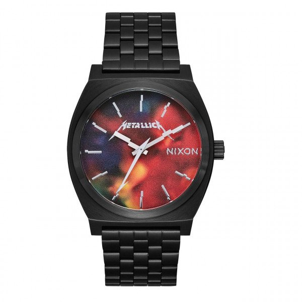 NIXON PULKSTENIS TIME TELLER BLACK HARDWIRED