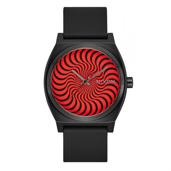 NIXON WATCH TIME TELLER BLACK SWIRL