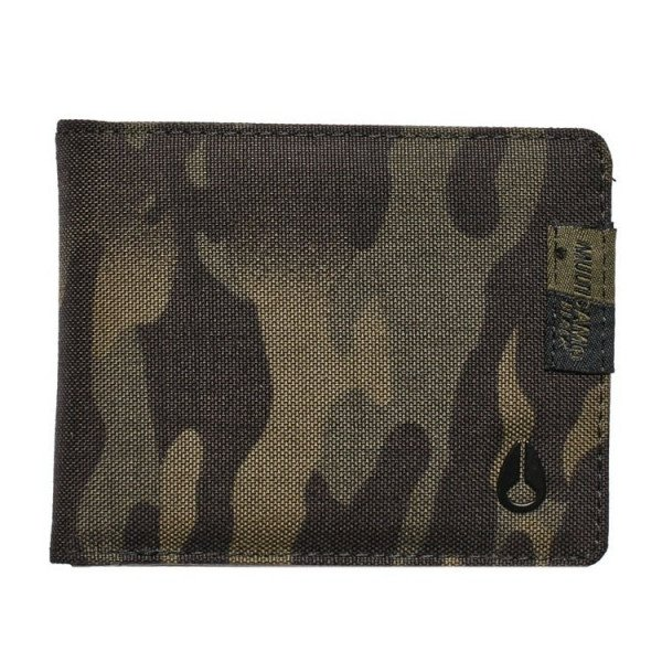 NIXON WALLET CAPE MULTI BLACK MULTICAM