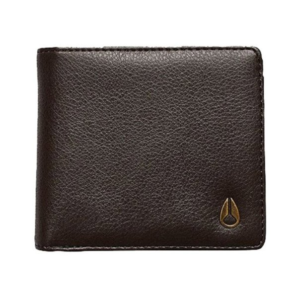 NIXON WALLET CAPE VEGAN LEATHER COIN BROWN