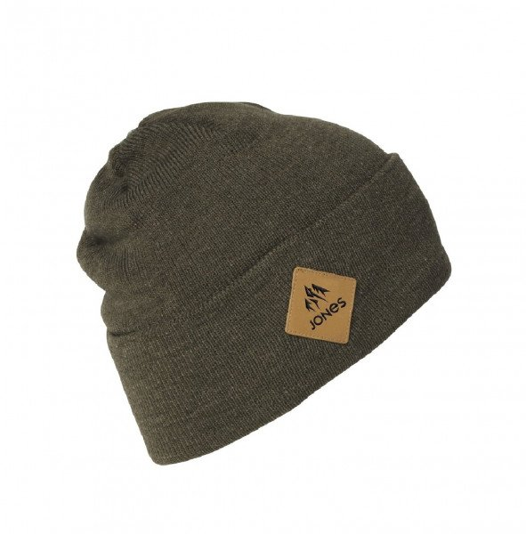 JONES CEPURE BAKER BEANIE HEATHER OLIVE W19